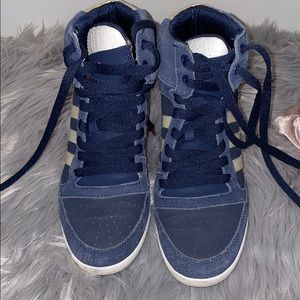 Adidas- wedge sneaker. Good condition